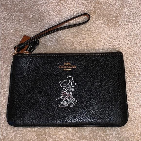 Coach Handbags - Disney X Coach Wristlet